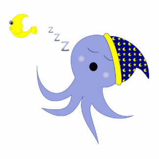 Sleeping Octopus Acrylic Cut Out