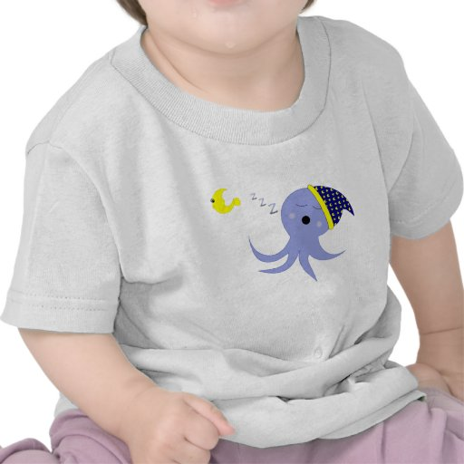 Sleeping Octopus Tshirt