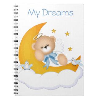 Sleeping on the Moon Notebook
