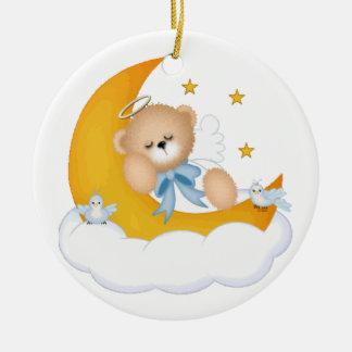 Sleeping on the Moon Ornament