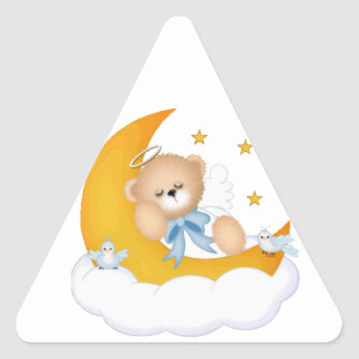 Sleeping on the Moon Sticker