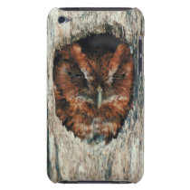 Sleeping Owl in a Tree iPod Touch Cover