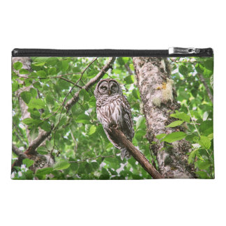 Sleeping Owl in the Wild Travel Accessory Bag