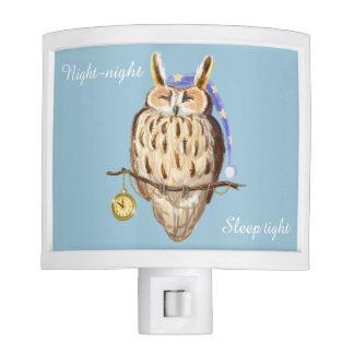 Sleeping Owl night-night sleep tight Night Light