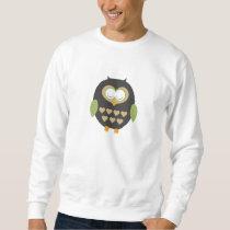 Sleeping owl sweatshirt