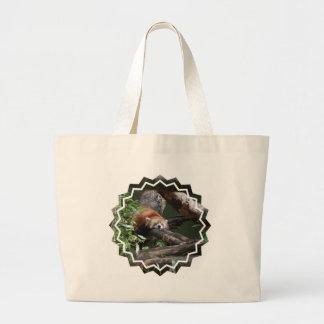Sleeping Panda Bear  Canvas Bag
