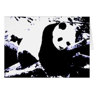Sleeping Panda Card