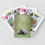 Sleeping Panda Deck Of Cards