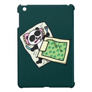 sleeping panda iPad mini cover