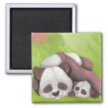 Sleeping Panda Magnet
