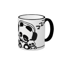 Sleeping Pandas Coffee Mug