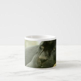 Sleeping Panther Specialty Mug 6 Oz Ceramic Espresso Cup