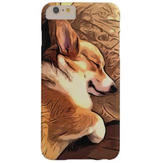 Sleeping Pembroke Welsh Corgi dog Barely There iPhone 6 Plus Case