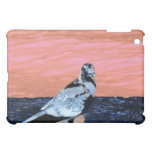 sleeping pied pigeon coral wall blue river invert cover for the iPad mini