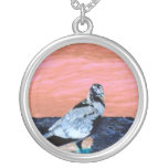 sleeping pied pigeon coral wall blue river invert pendant