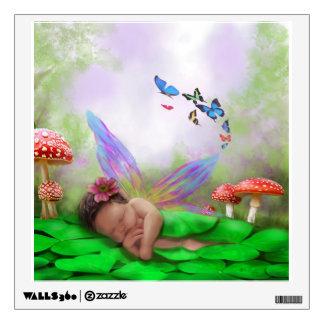 Sleeping Pixie Wall Sticker