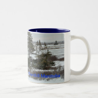 Sleeping Polar Bear, Churchill Manitoba Coffee Mug