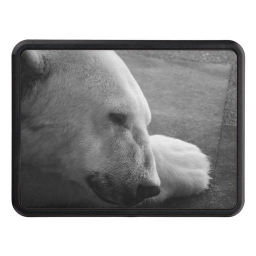 Sleeping Polarbear Hitch Cover