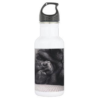 Sleeping Pug 18oz Water Bottle