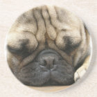 Sleeping Pug Coasters