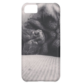 Sleeping Pug Cover For iPhone 5C