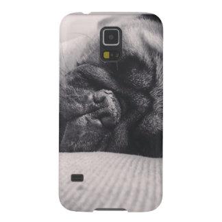 Sleeping Pug Galaxy S5 Cover