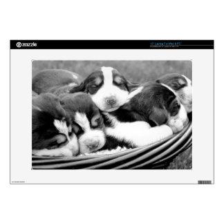 Sleeping Puppies Laptop Decals