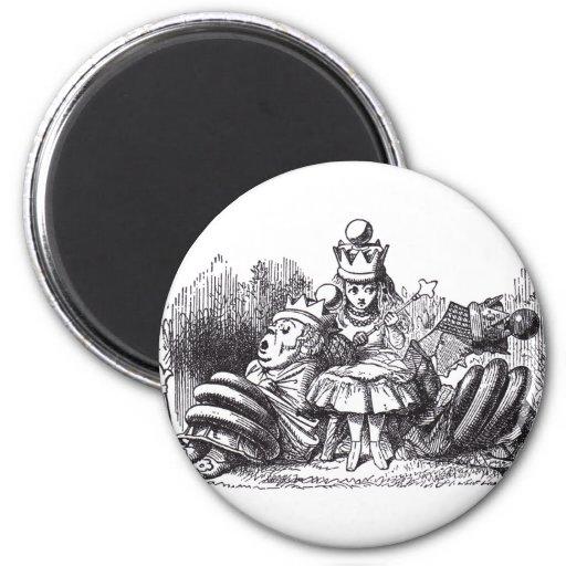Sleeping Queens 2 Inch Round Magnet