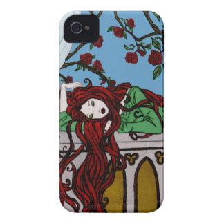 Sleeping Rapunzel iPhone 4 Cover