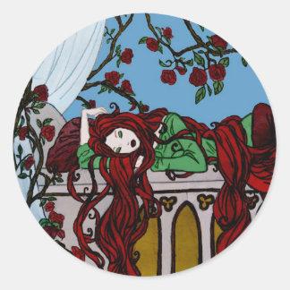 Sleeping Rapunzel Sticker