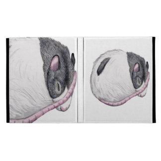 sleeping rat Caseable iPad Folio Case