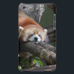 "Sleeping Red Panda iTouch Case<br><div class=""desc"">Sleeping Red Panda Bear looking very cute.</div>"
