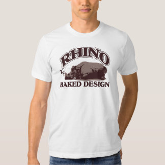 SLEEPING RHINO 03 T SHIRT