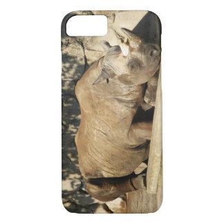 Sleeping Rhino iPhone 7 Case
