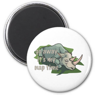 SLEEPING RHINOCEROS MAGNET