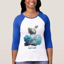 SLEEPING SEAL PUP Seal-Lover Ladies Shirt