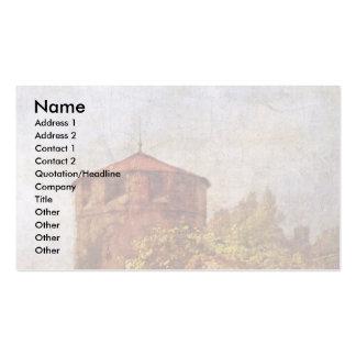Sleeping Sentry By Spitzweg Carl Business Cards