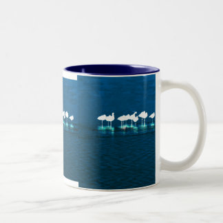 Sleeping Shorebirds Art Mug