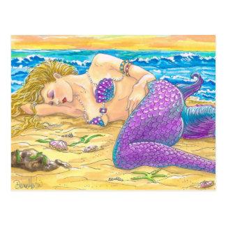 Sleeping Siren Postcard