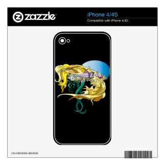 Sleeping Skin For iPhone 4S