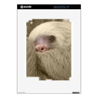 sleeping sloth skin for the iPad 2