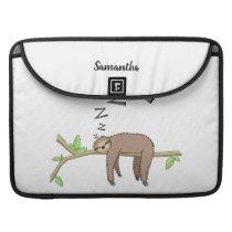 Sleeping sloth sleeve for MacBook pro