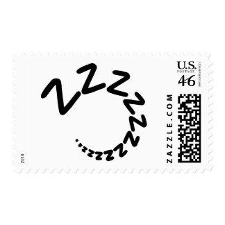Sleeping snore postage