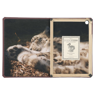 sleeping snow leopard iPad Air Dodo case Cover For iPad Air