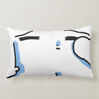 Sleeping so the pillow
