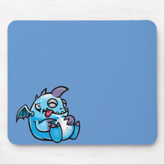 Sleeping space monsters mouse pad
