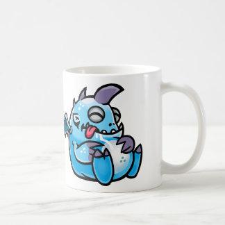 Sleeping space monsters classic white coffee mug