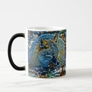 Sleeping Swift Fox Wildlife Art Tea or Coffee Mug