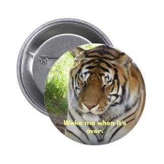 Sleeping tiger button