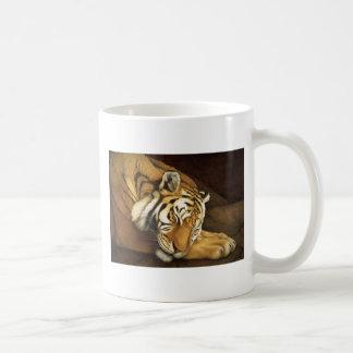 sleeping tiger mug